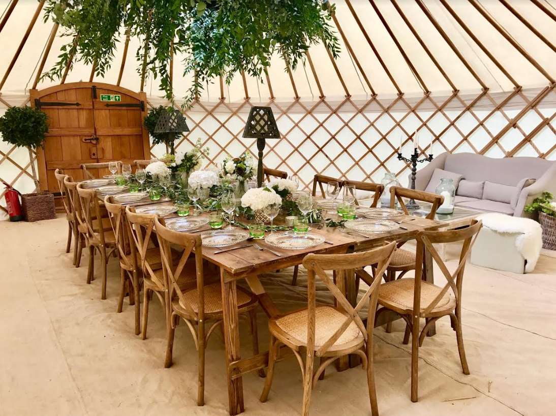 Examples of work and services from roundhouse yurts