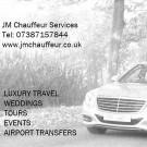 Logo of JM Chauffeur Service Car Hire - Chauffeur Driven In Much Wenlock, Shropshire