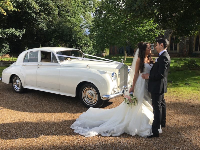 Logo of Elegance Wedding Cars - Wedding Car Hire London