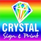 Logo of Crystal Sign and Print Printers In Billericay, Essex