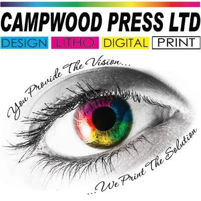 Logo of Campwood Press Ltd Printers In Clacton On Sea, Essex