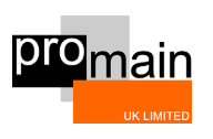 Logo of Promain UK Limited Paint Mnfrs In Hitchin, Hertfordshire