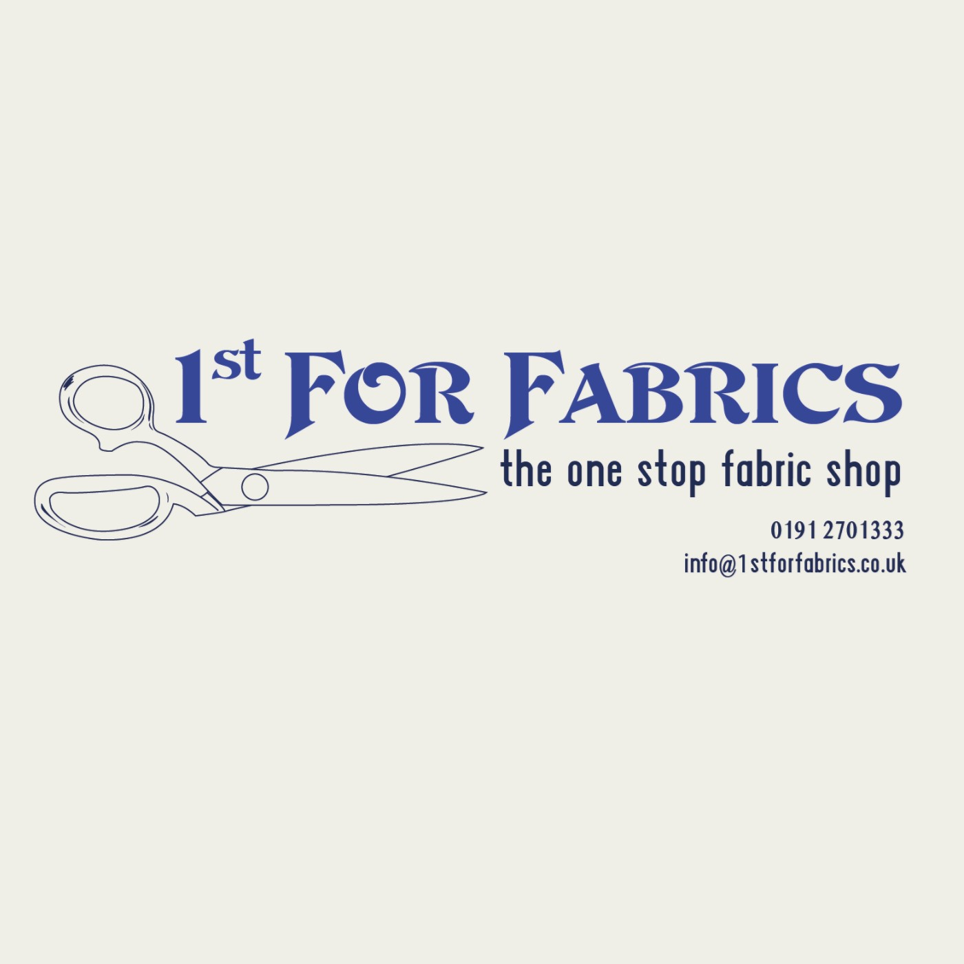 Logo of 1st For Fabrics Fabric Shops In Newcastle Upon Tyne, Tyne And Wear