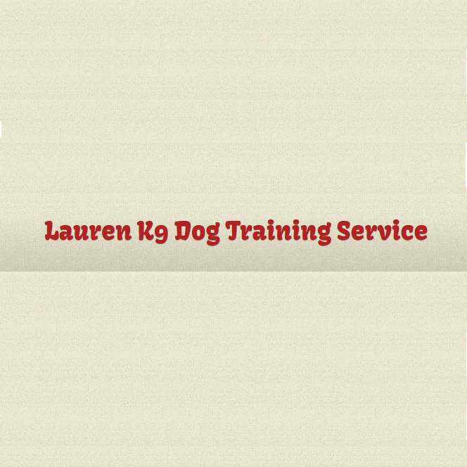 Logo of Lauren K9 Dog Training Service