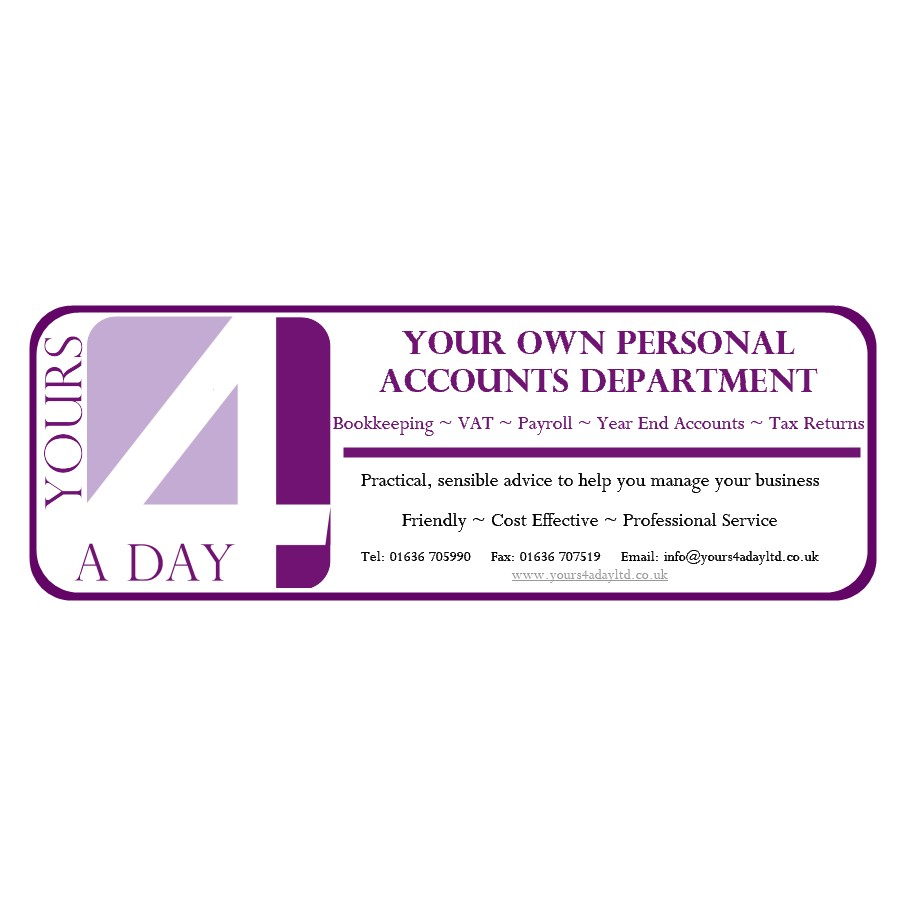 Logo of Yours 4 A Day Accountants In Newark, Nottinghamshire