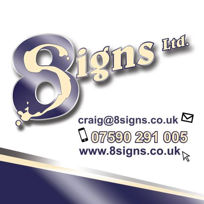 Logo of 8 Signs Ltd Sign Makers General In Croydon, Surrey