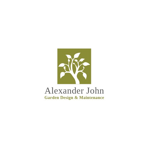 Logo of Alexander John Garden Design & Maintenance, Banbury Garden Design In Banbury, Oxfordshire