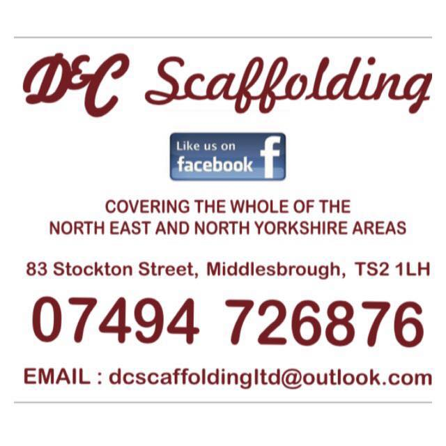 Logo of D & C Scaffolding Scaffolding Erectors And Hirers In Middlesbrough, North Yorkshire