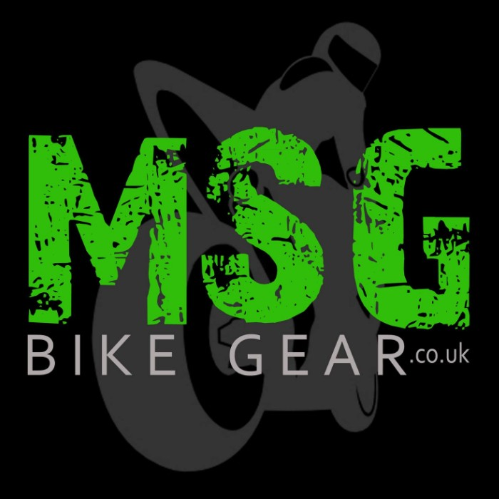 Logo of MSG Bike Gear Motor Cycle Parts And Accessories In Stockton On Tees, County Durham