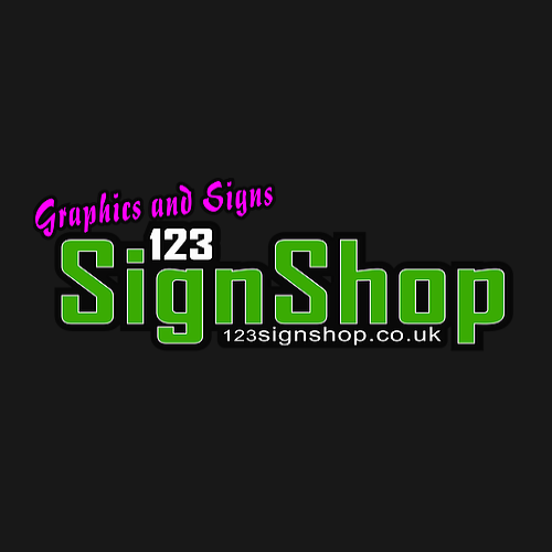 Logo of 123 Sign Shop Sign Makers General In Lewes, East Sussex