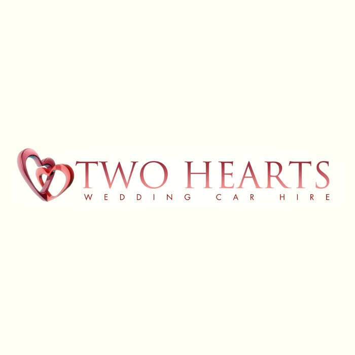 Logo of Two Hearts Wedding Cars