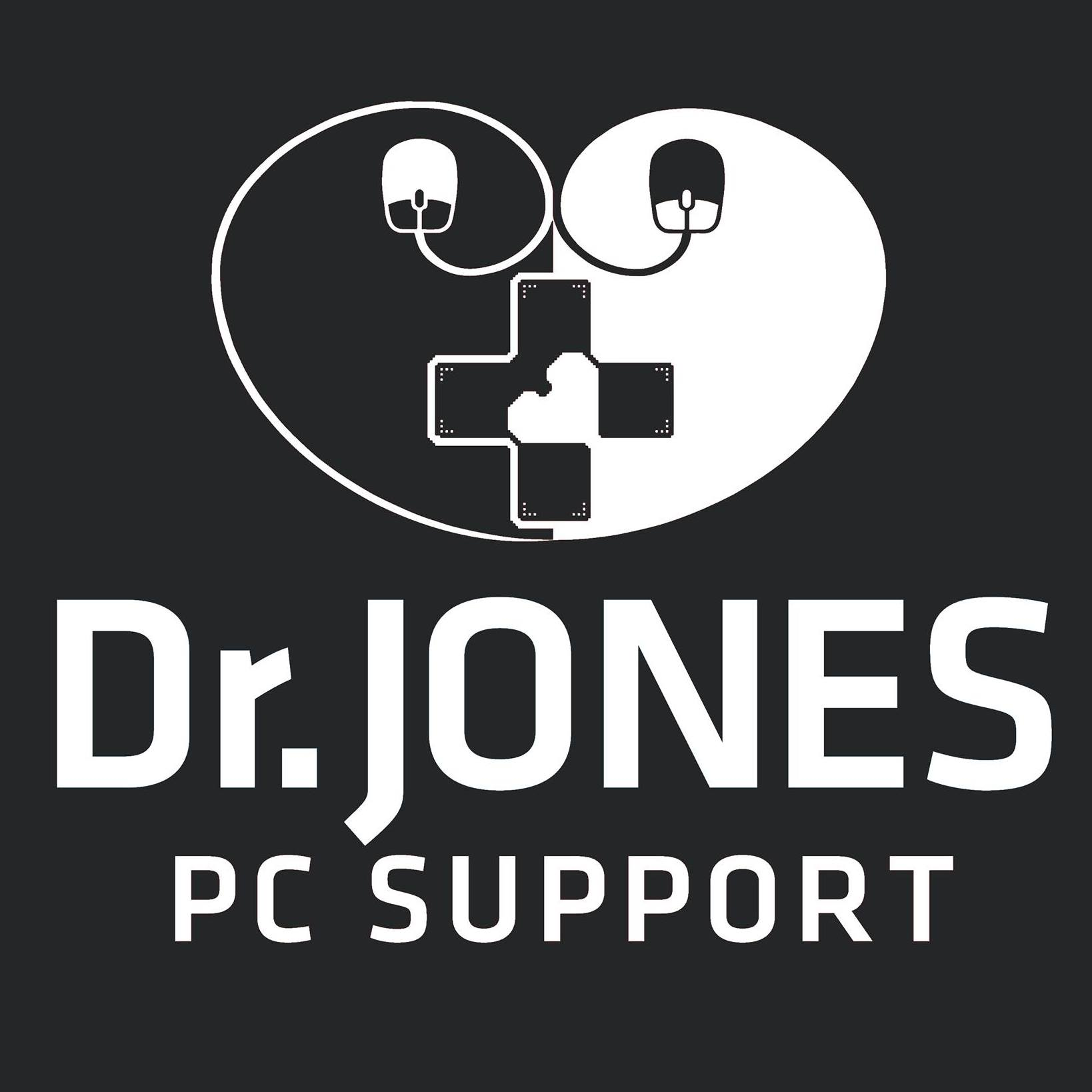 Logo of Dr Jones PC Support IT Services In Biggleswade, Bedfordshire