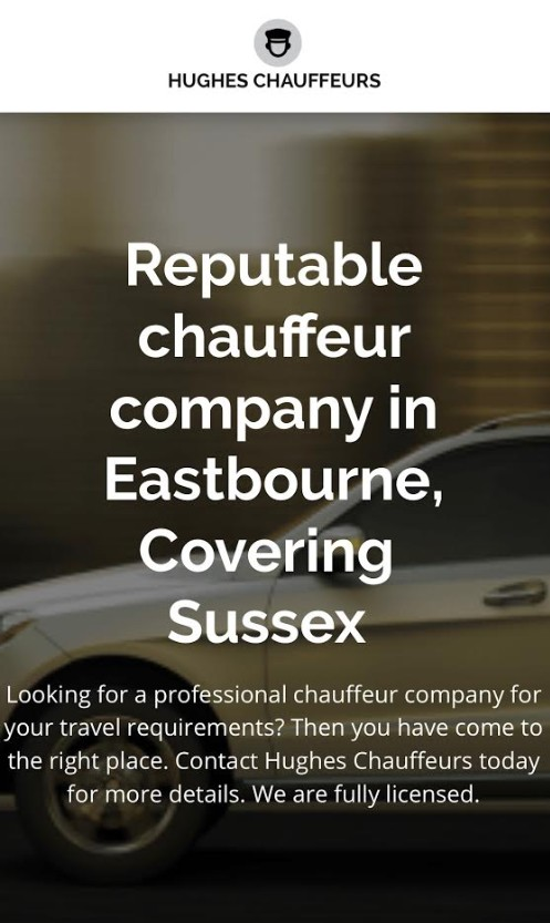 Logo of Hughes Chauffeurs Chauffeur Driven Cars In Eastbourne, East Sussex