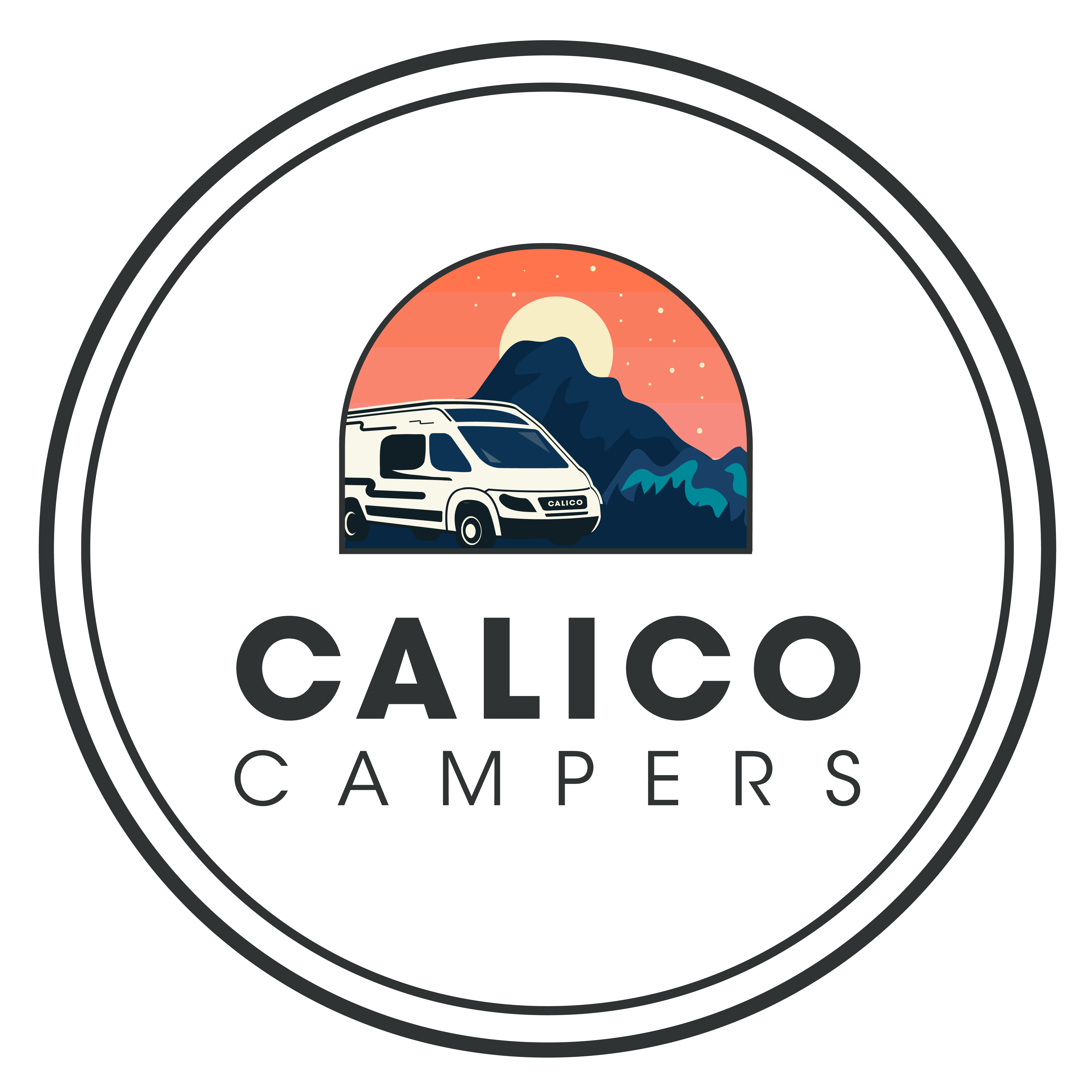 Logo of Calico Campers