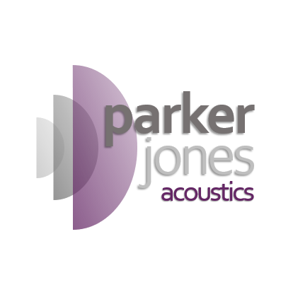 Logo of ParkerJones Acoustics Acoustic Consultants In Bristol