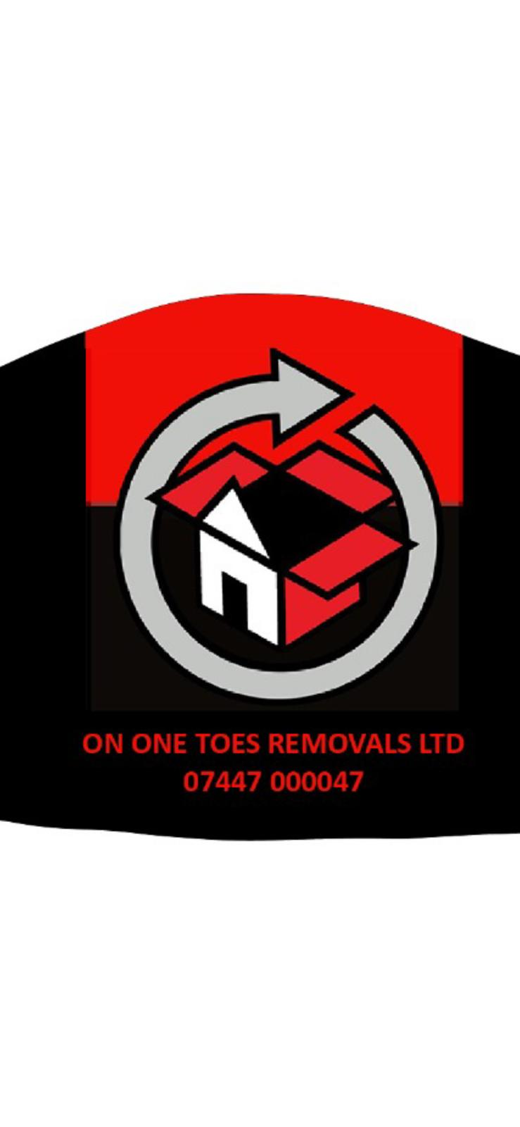 Logo of On One Toes Removals LTD Household Removals And Storage In Sawbridgeworth, Hertfordshire