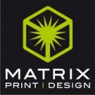 Logo of Matrix Print and Design Printers In Barnstaple, Devon
