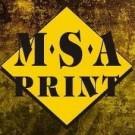 Logo of MSA Print